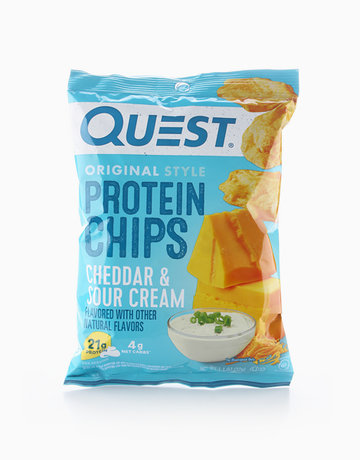 Cheddar & Sour Cream Original Style Protein Chips (32g) by Quest