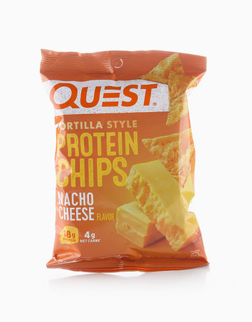 Nacho Cheese Tortilla Style Protein Chips (32g) by Quest