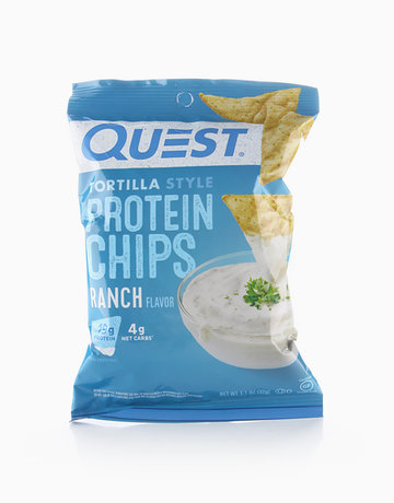 Ranch Tortilla Style Protein Chips (32g) by Quest