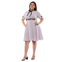 Plus Size Allison Patched Fit & Flare Dress by Frassino Collezione
