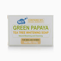 Green Papaya Tea Tree Whitening Soap by SCT