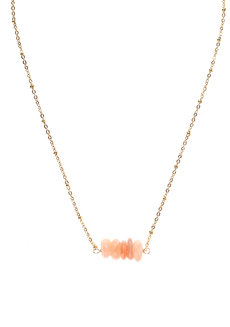 Sunstone Bar Necklace by Made By KCA