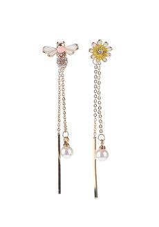 Brielle Enamel Earrings by Znapshop