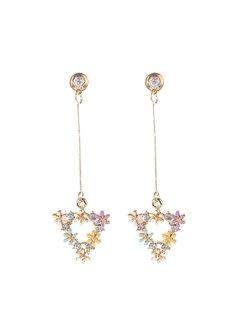 Andrea Enamel Earrings by Znapshop
