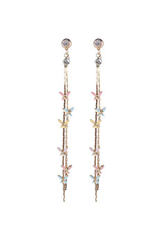 Driana Enamel Earrings  by Znapshop