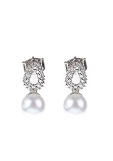 Dolly Pearl Earrings by Znapshop