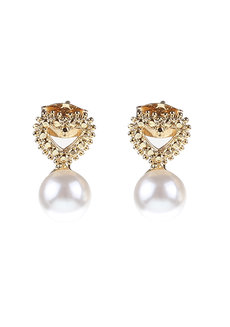 Krisha Pearl Earrings by Znapshop