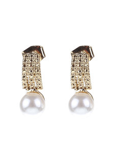 Via Pearl Earrings by Znapshop