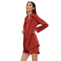 Maxine Blazer and Shorts Set by Babe