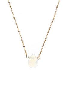 Opalite Teardrop Necklace by Made By KCA