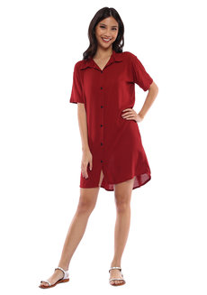 Zoe Shirt Dress by Babe
