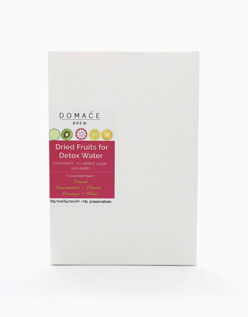 Dried Fruits for Detox Water (6 Pouches, 30g) by Domace Brew