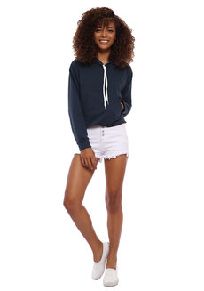 Sophie Cropped Hoodie by Babe