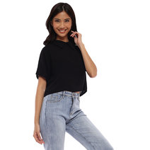 Riley Collared Crop Top by Babe