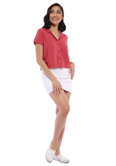 Erin Button Down Top by Babe