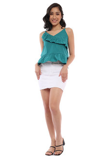 Heidi Ruffled Top by Babe
