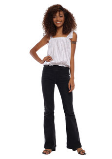 Joanna Self Tie Scrunched Top by Babe