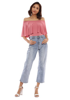 Dahlia Off Shoulder Top by Babe
