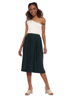 Electric Pleated Skirt by Pink Lemon Wear