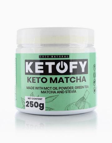 Ketofy Matcha Green Tea (250g) by SOZO Natural