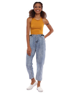 Johann Denim Pants by Pink Lemon Wear