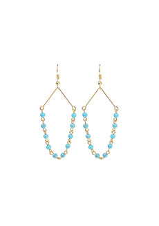 Turquoise Earrings by Bedazzled