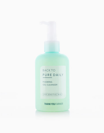 Back to Pure Daily Foaming Gel Cleanser (200ml) by Thank You Farmer