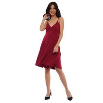 Czarina V-Neck Dress by Babe