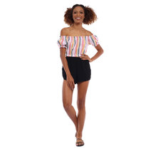 Vanessa Off Shoulder Smocked Top by Babe