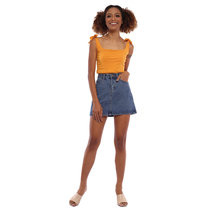 Velma Self Tie Crop Top by Babe