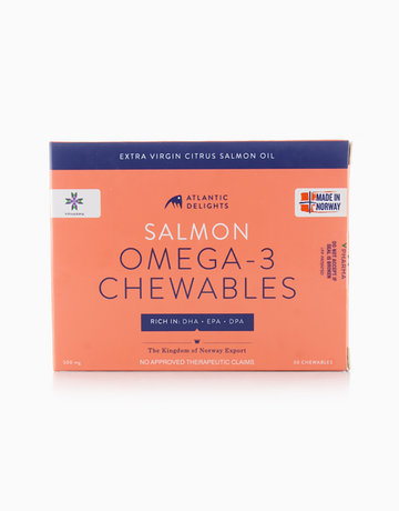 Atlantic Delights Salmon Omega-3 Chewables (30 Soft Gels) by Atlantic Delights