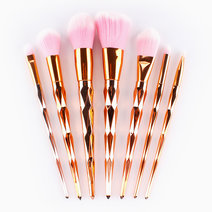7-Piece Diamond Brush Set by Mermaid Dreams