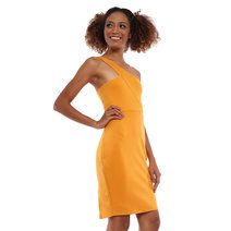Athena One Shoulder Dress by Babe