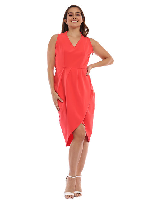 Laurita Pleated Dress by Chelsea