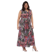 Domenica Wrap Maxi Dress by Chelsea