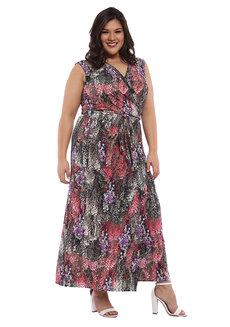 Domenica Wrap Maxi Dress by Chelsea