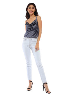 Athena Satin Cowl Neck Cami by Morning Clothing