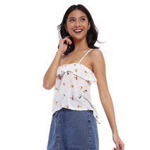 Melissa Ruffled Cami Top by Morning Clothing