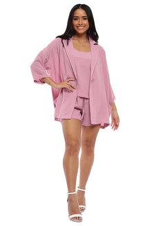 Gillian 3-Piece Blazer Set  by Pink Lemon Wear