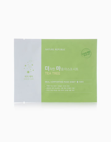 Real Comforting Mask Sheet - Tea Tree by Nature Republic