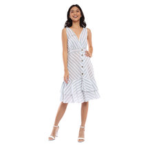 Georgina Striped Dress by Pink Lemon Wear