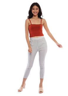 Zola Gingham Trousers by Morning Clothing