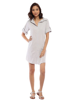 Jen Shirt Dress by Babe