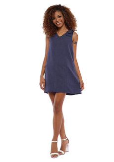 Mallory Dress with Ribbon Detail by Babe