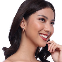 Celeste Lock Earrings by Moxie PH