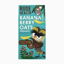 Banana Berry Oats (325g) by Rude Health