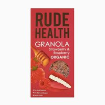 Strawberry Raspberry Granola (450g) by Rude Health