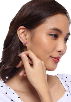 Mulberry Stud Earrings by Moxie PH