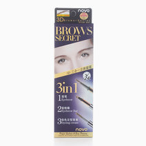 3-in-1 Brows Secret by Novo Cosmetics