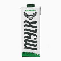 Rebel Kitchen Semi Skimmed Plant Based Mylk (1L) by Raw Bites